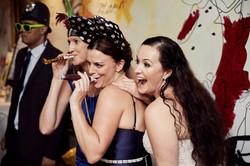 candid wedding