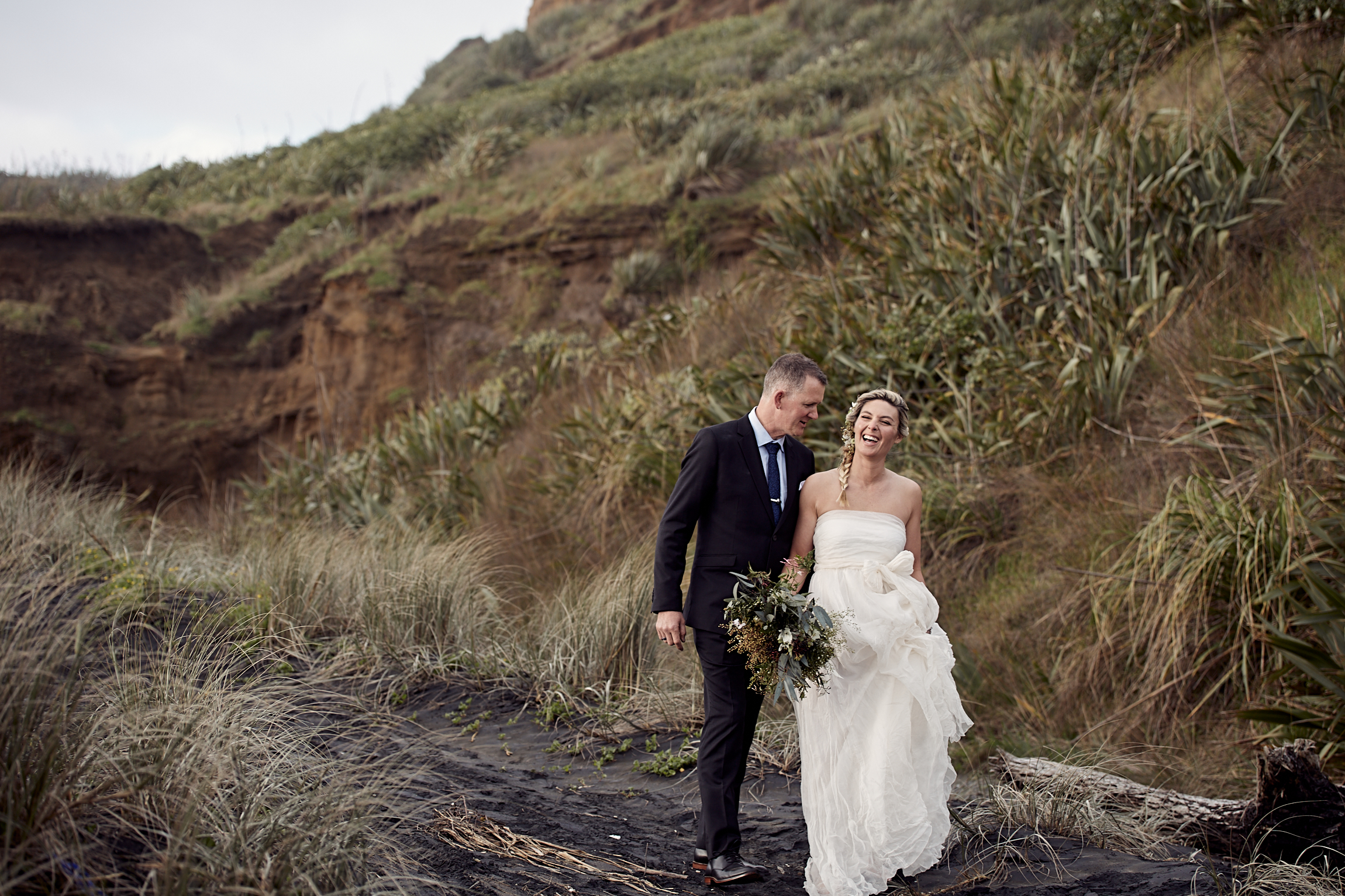 Auckland wedding at the beach