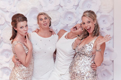 funny moment with bride