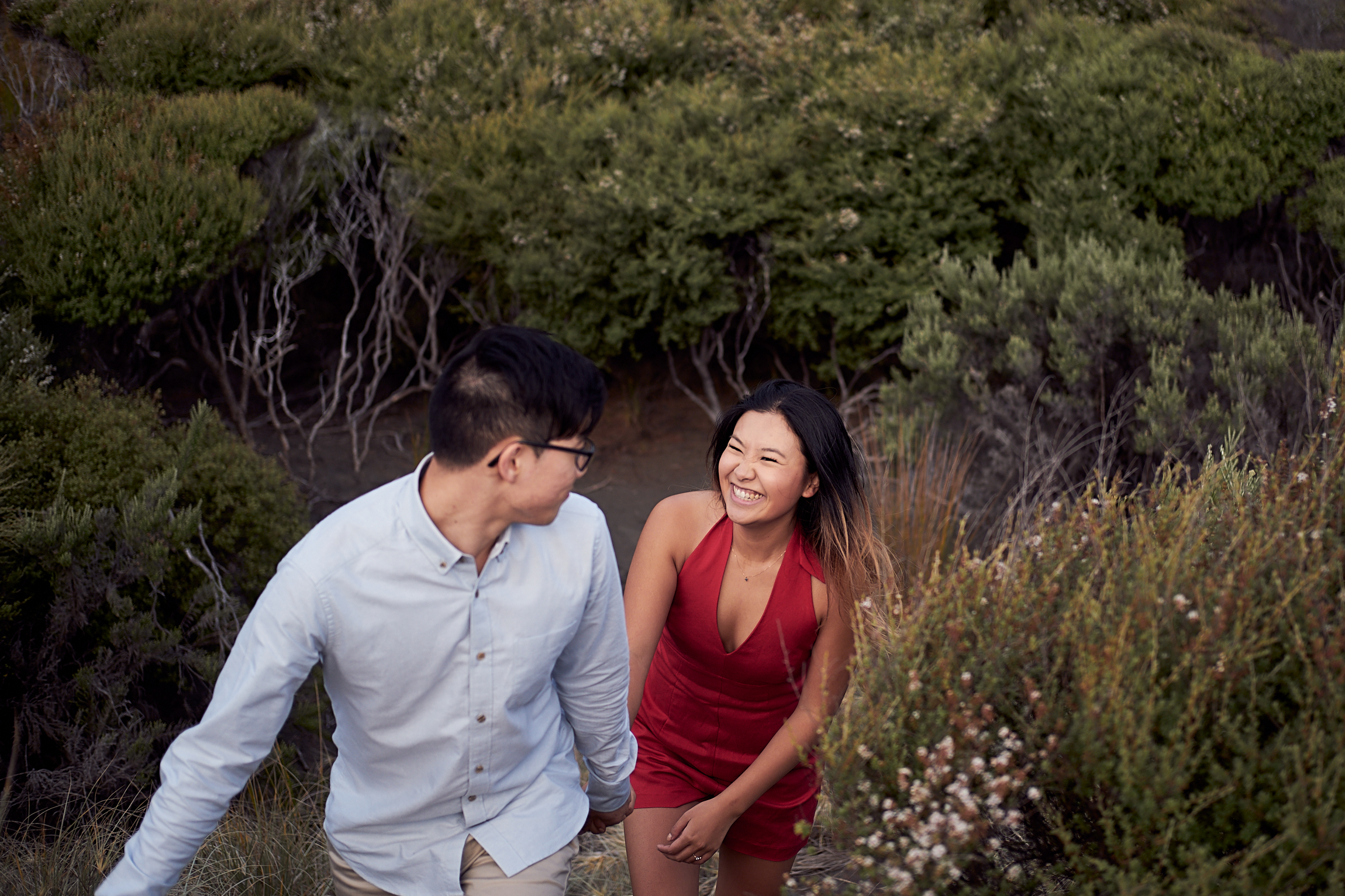 Natural Engagement photographers