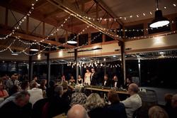 The newlyweds speech