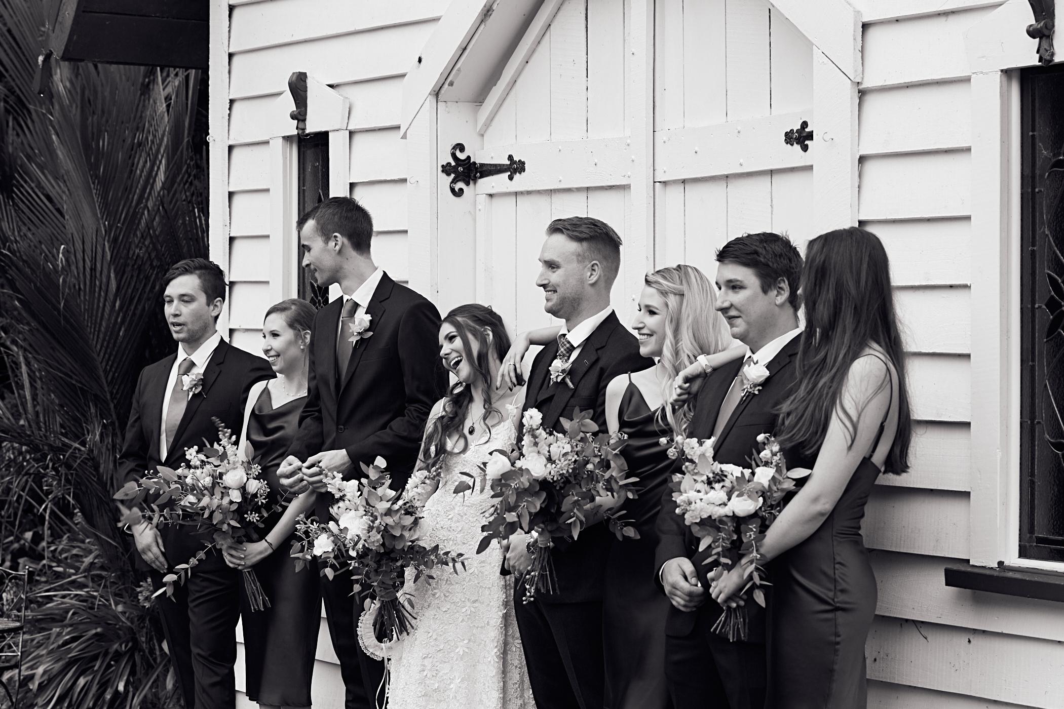 Candid wedding photography