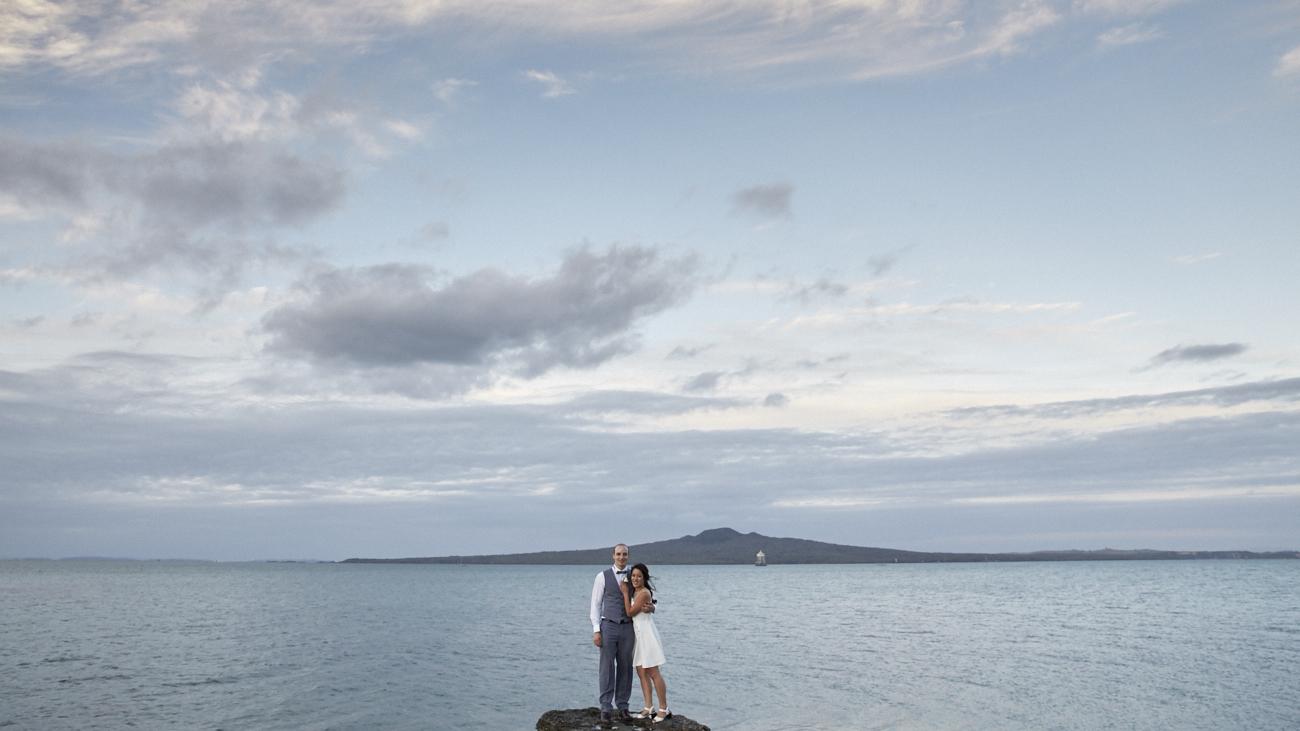 New Zealand wedding photo