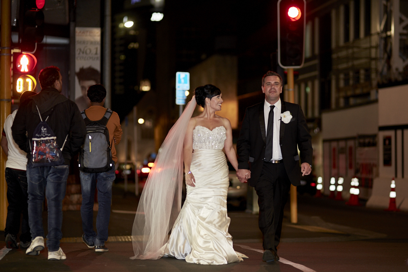 Auckland city wedding