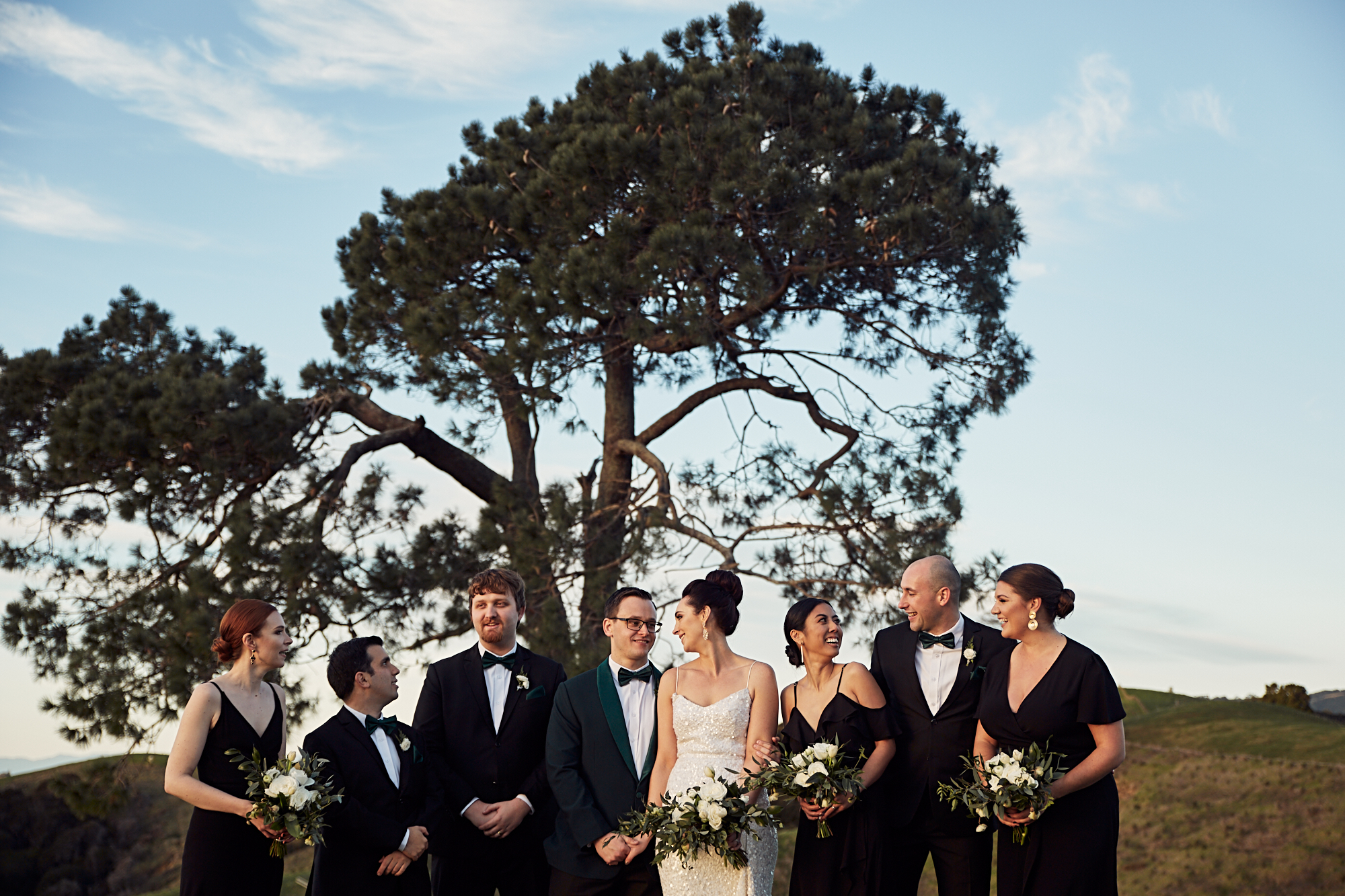 Kauri bay wedding shoot