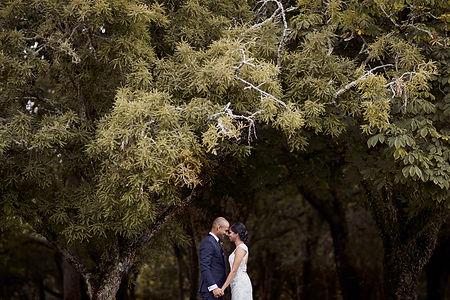 Wedding at Cornwall Park