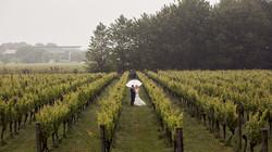Rainy Auckland wedding