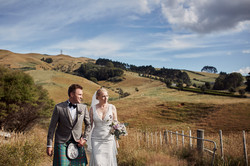 Country wedding setting