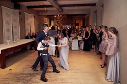 Dancing at Auckland wedding