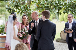 Wedding at Markovina Estate