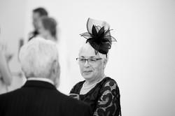 lady at wedding