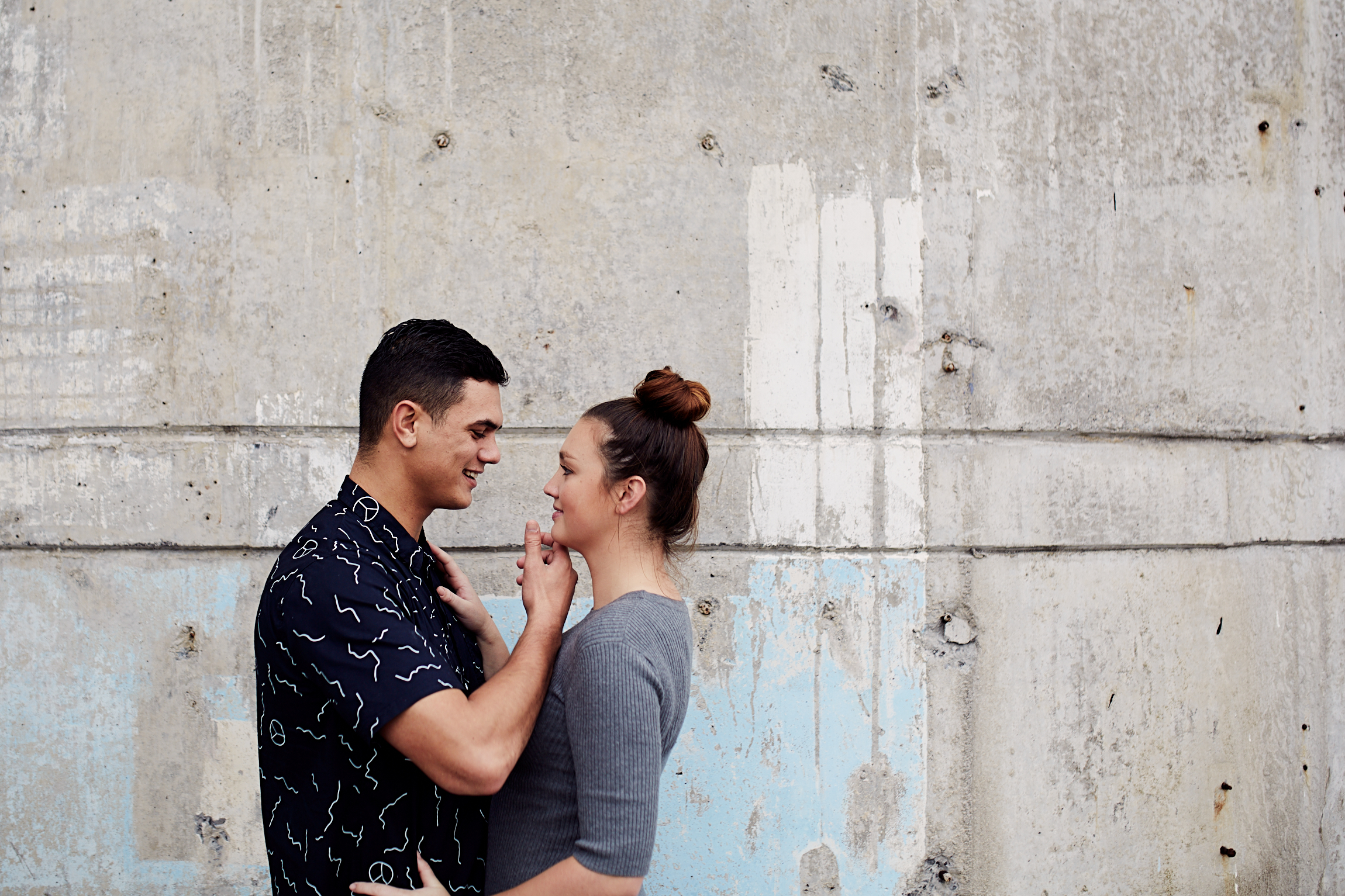 Silo Park engagement shoot