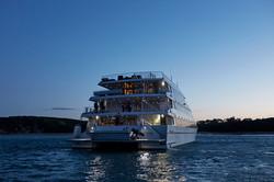 the wedding boat