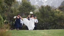 raining on bridal party