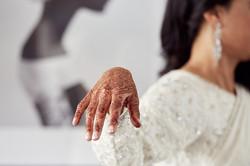 bride's hand