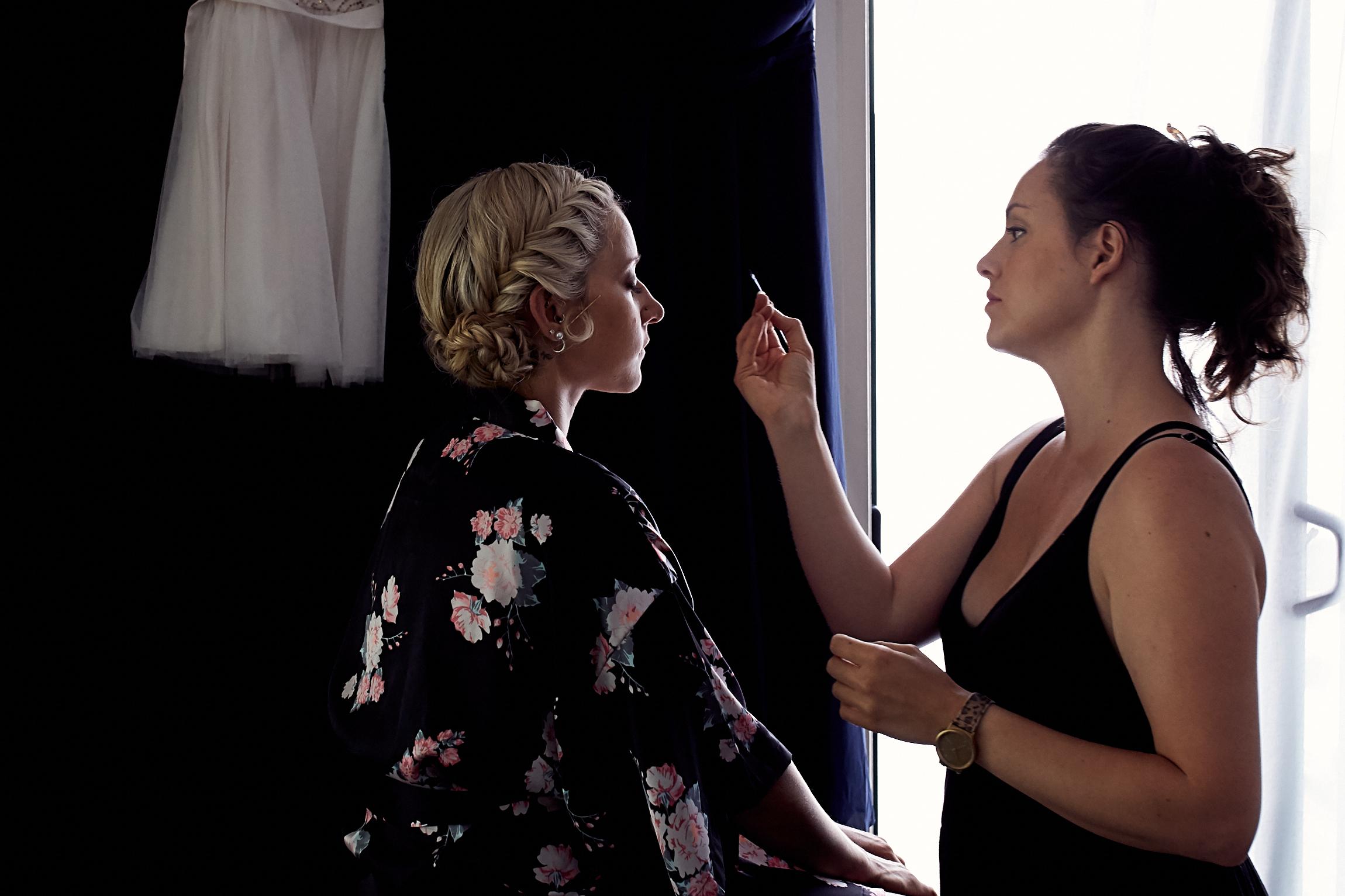 make up for bridesmaid