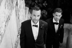 groom walking