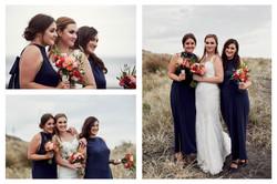 Bride and her besties