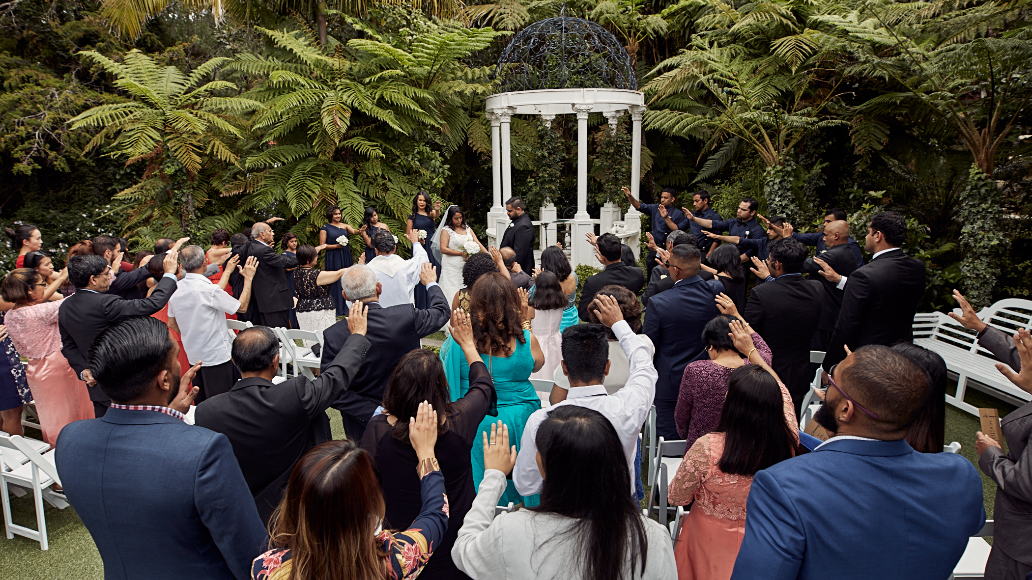 Auckland wedding photo