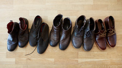 The boys shoes
