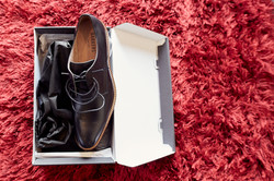 the grooms shoes