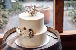 Cake wedding photo