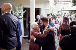 Nana and the groom