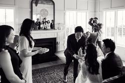 Tea ceremony at Mudbrick