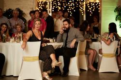 guests at zoo wedding