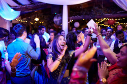 people at wedding dancing