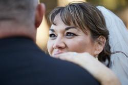 bride's eyes