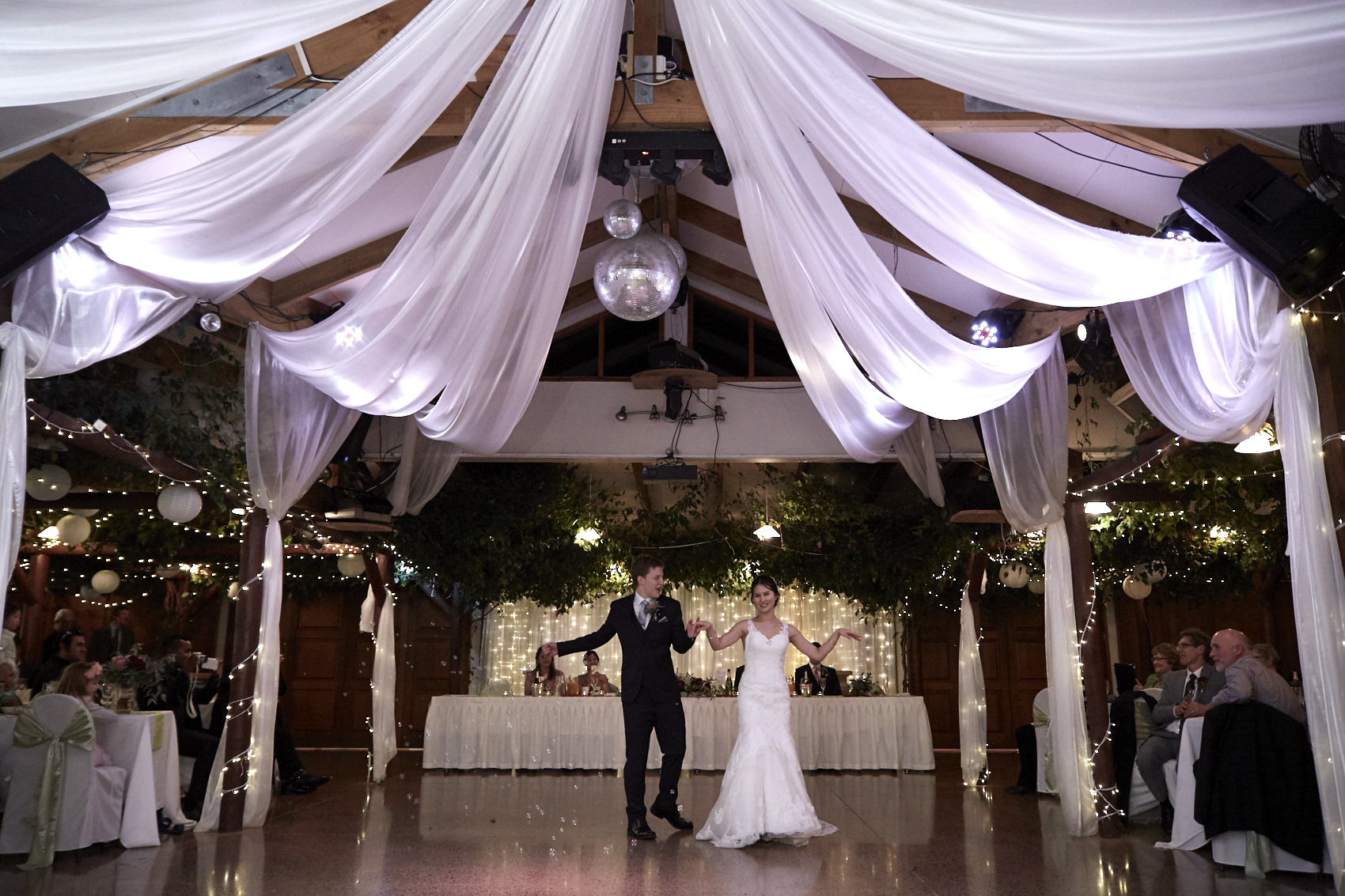 the first dance at Markovina