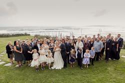 the big wedding group shot