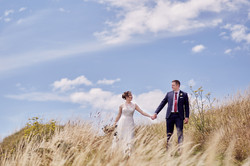 Long grass wedding photographer