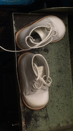 Baby Shoes Resoled