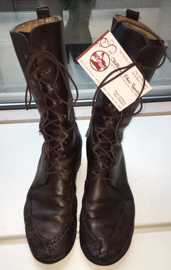 Restored 30 Year Old Boots