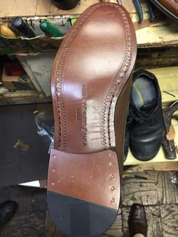 Slip Resistant Heel