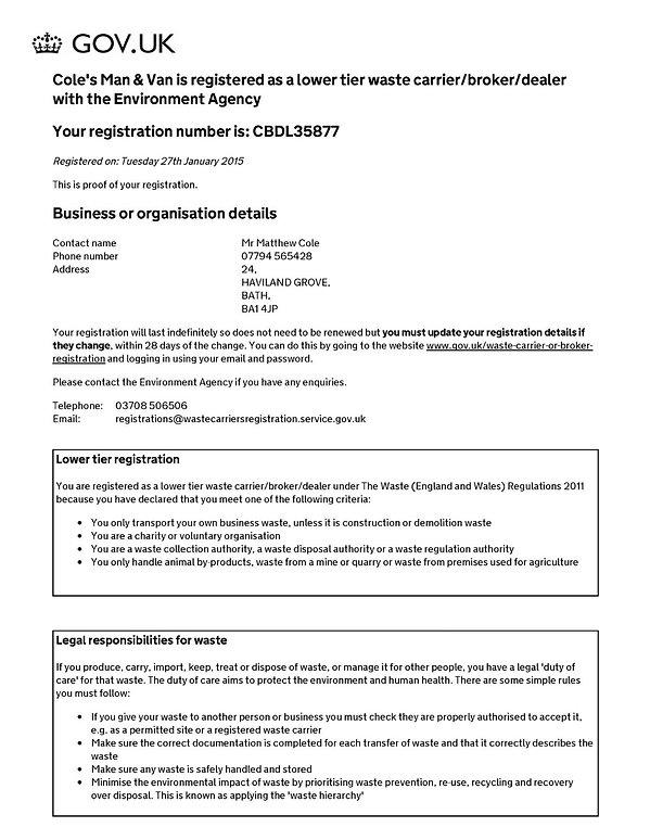 House clearance company in Bath