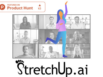 StretchUp is featured on Product Hunt!