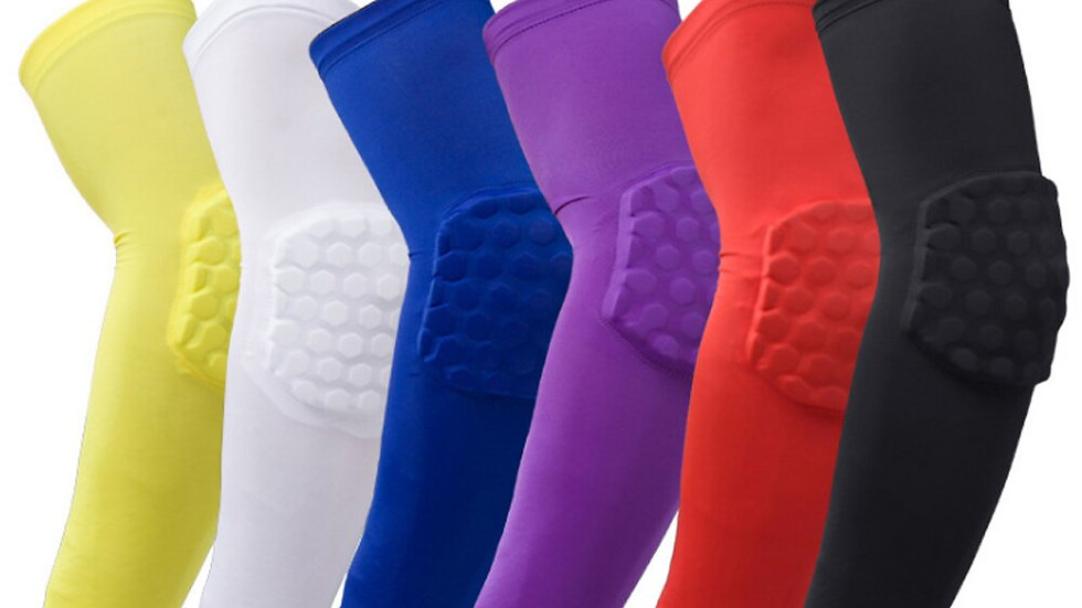 Honeycomb Sports Safety Elbow Support Training Brace Protective Gear