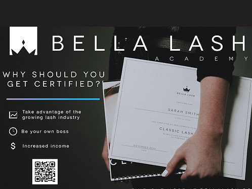 Bella Lash Extension Course - January 10&11 2021