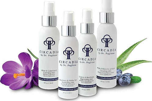 Four Types of Circadia Functional Mist