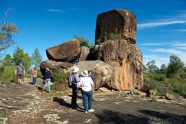 Eugowra, Granite Tors near Escort Rock M