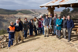 Cadia Mine Lookout at the Historic Site,