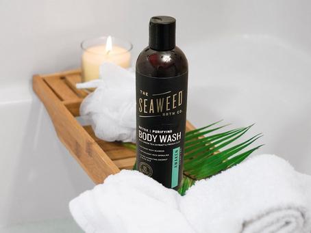 Feeling Clean + Green with The Seaweed Bath Co. Body Wash