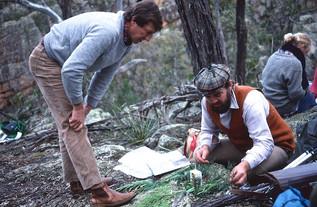 Col Bower and Dick Medd, Mingham Spring