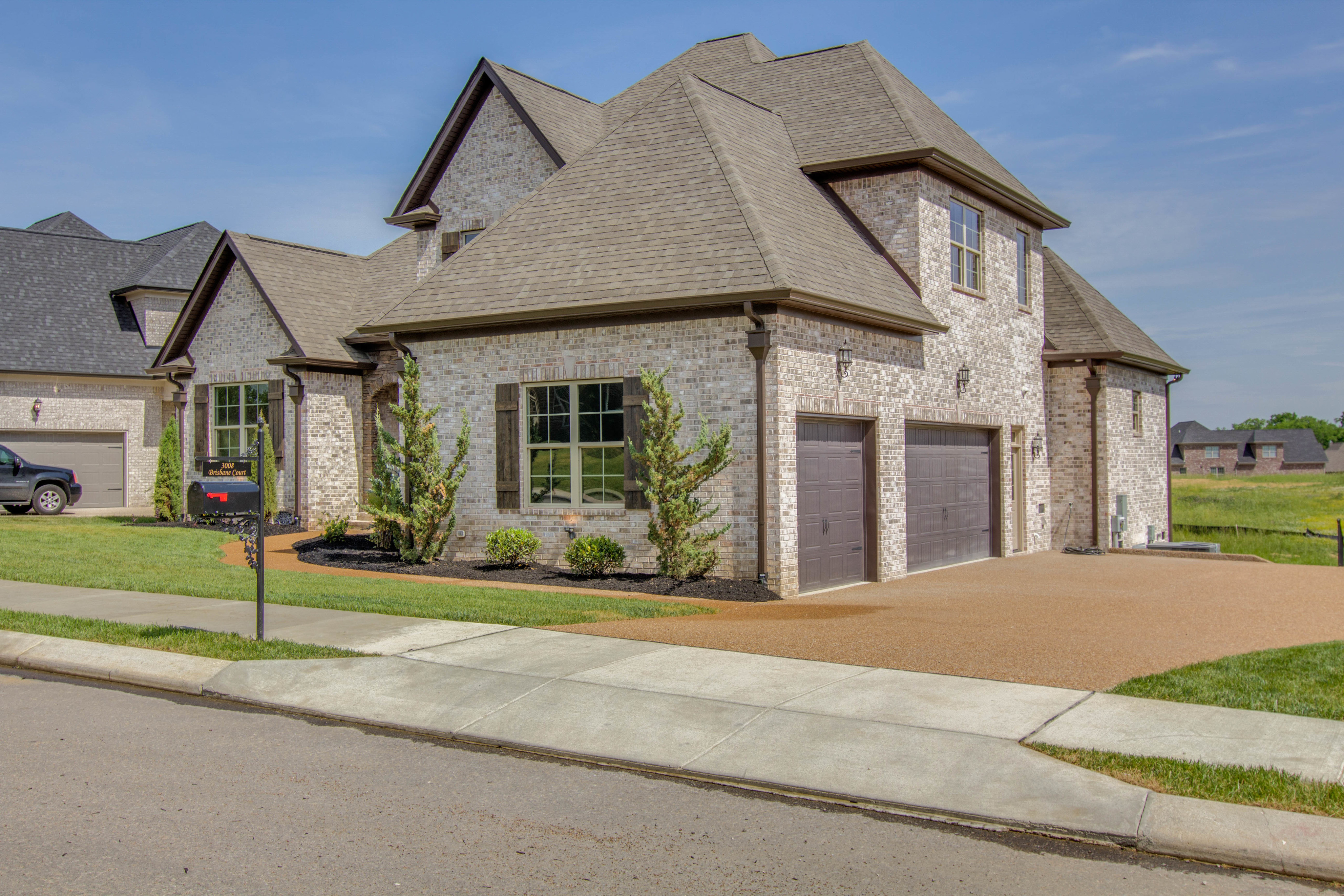 Lot 329 CG front garage side