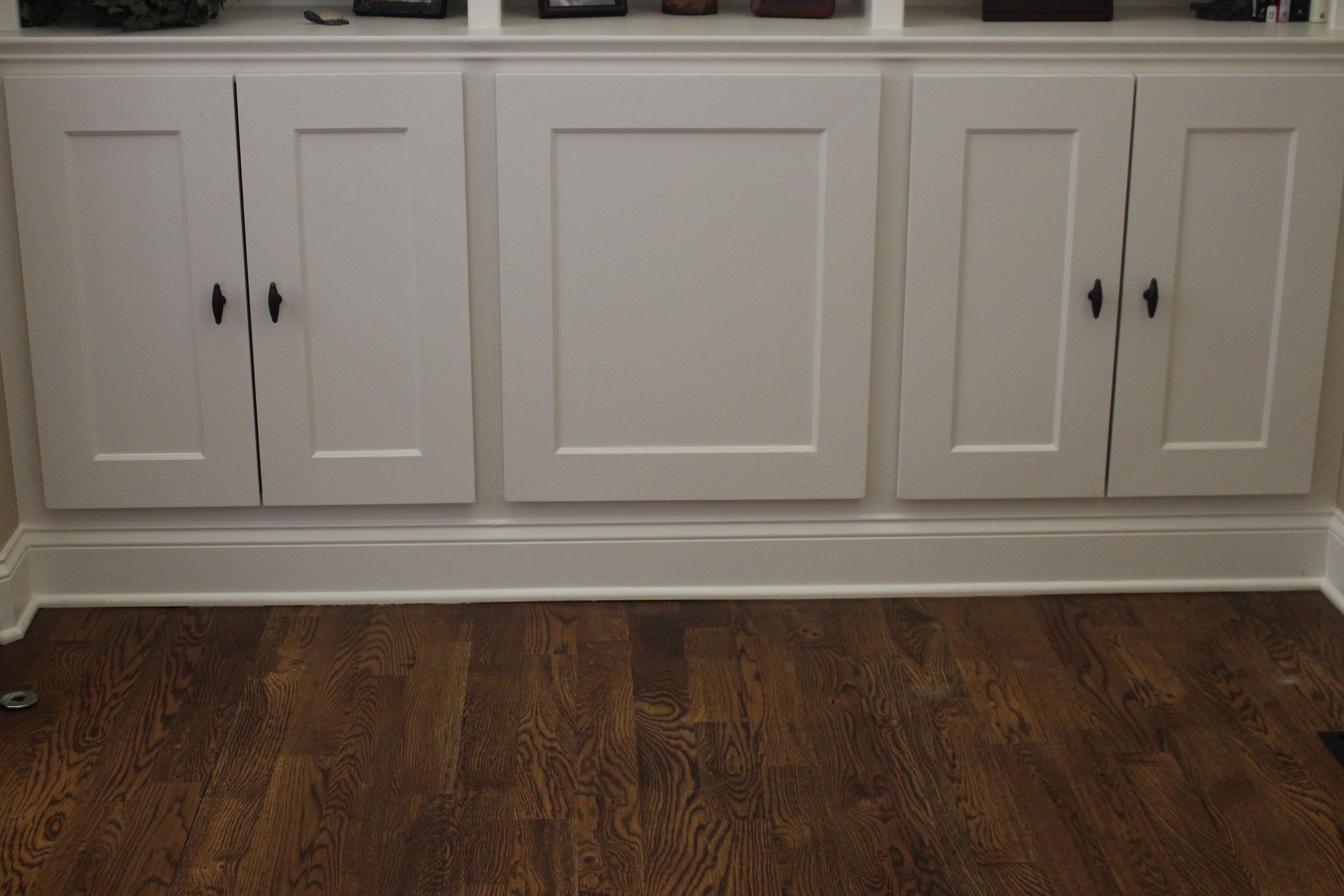 doors on bookshelves