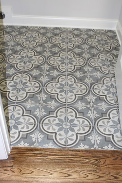 Lot 261 AB tile laundry room