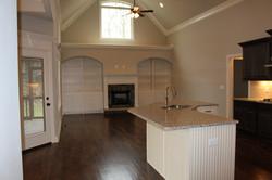 194AB great room-kitchen island